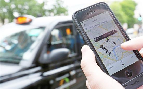 di uber taxi miễn phí