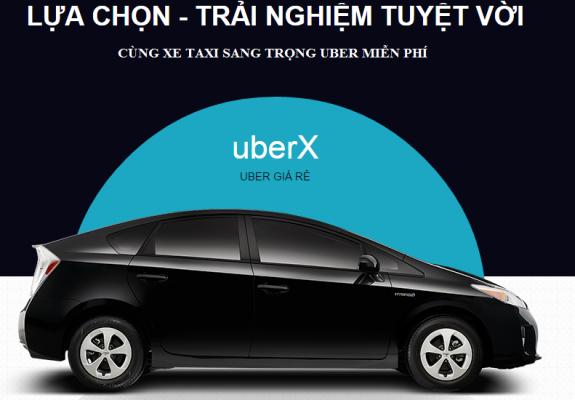 đi xe uber miễn phí