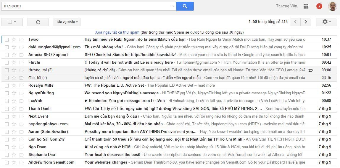 Thu spam 1