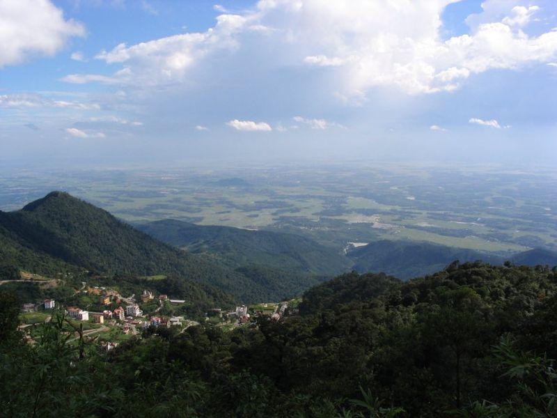 đỉnh núi tây thiên