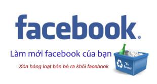 cách dọn rác facebook